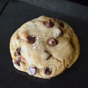 salted caramel chocolate chip cookies-12