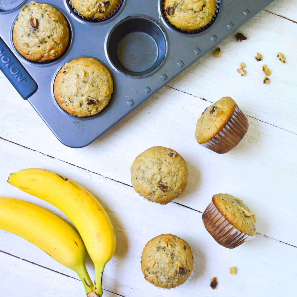 door county banana walnut muffins-8
