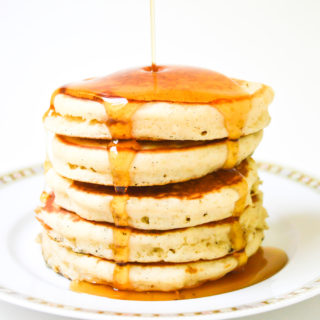 fluffy old fashioned pancakes-1-3