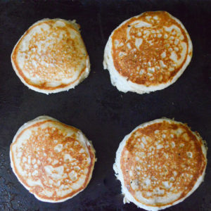 fluffy old fashioned pancakes-5
