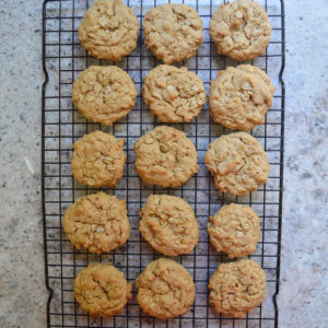oatmeal peanut butter cookies-13