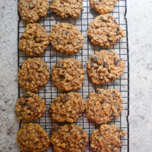 oatmeal raisin cookies-10