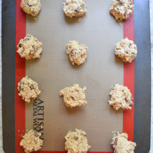 oatmeal raisin cookies-8
