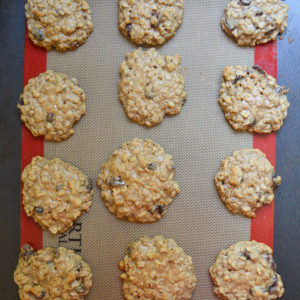 oatmeal raisin cookies-9