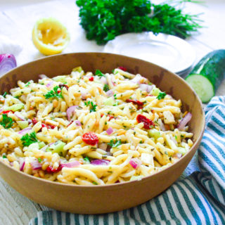 pasta salad with roasted tomatoes-13