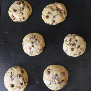 salted caramel chocolate chip cookies-11