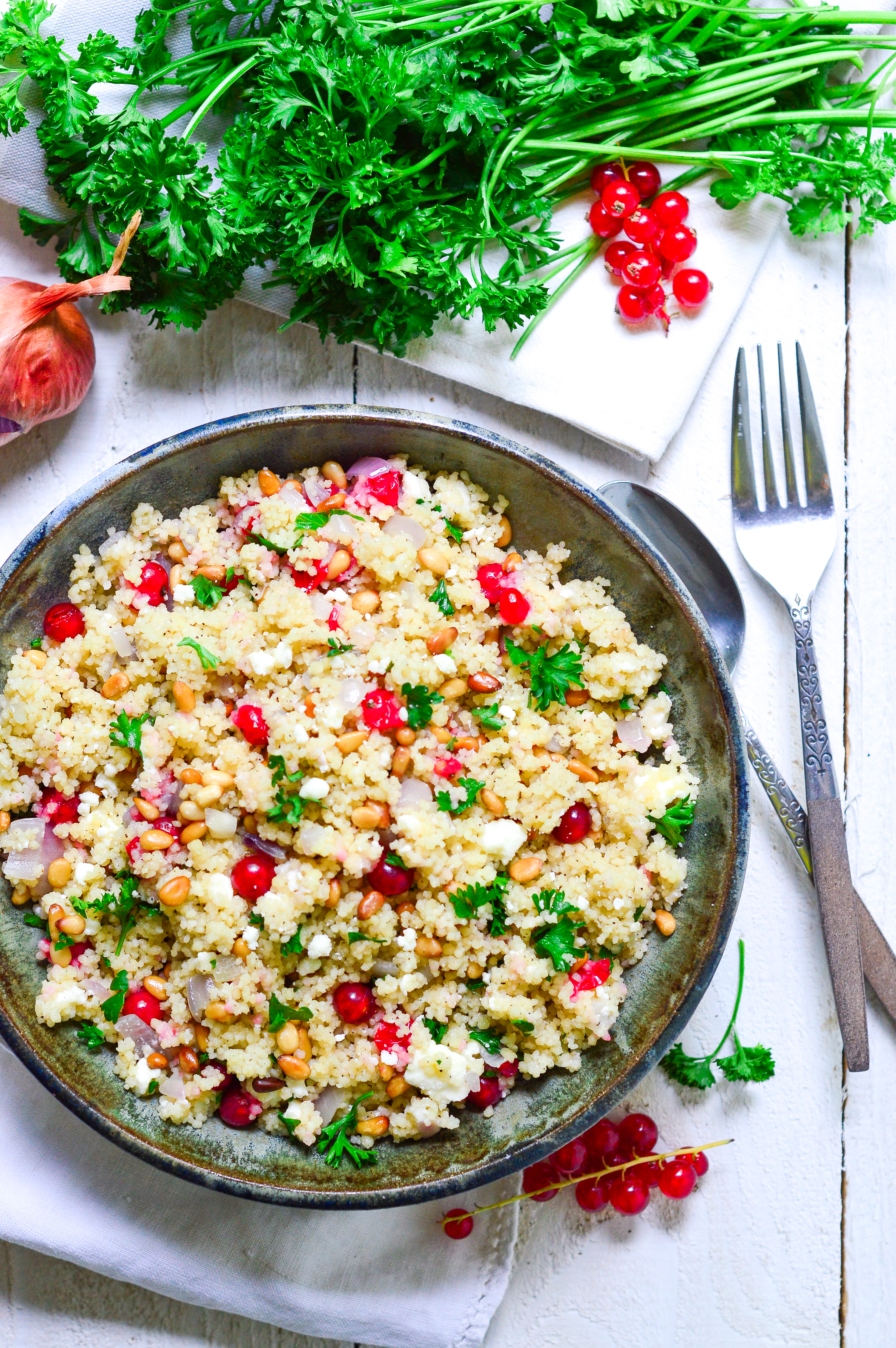 couscous with pine nuts and feta-11